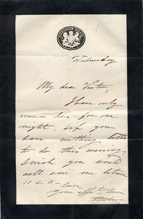 The image is of a specimen letter only.