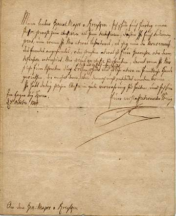 The image is of the original letter only.