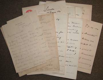 The image is of a group of letters of Kitchener.