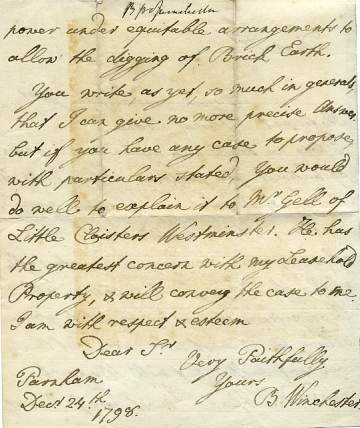 The image show the second page of the letter.