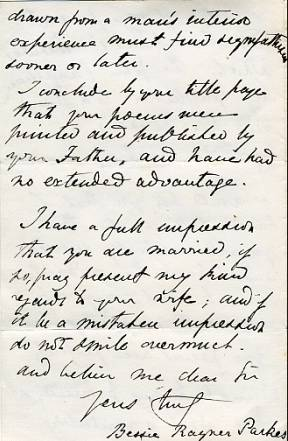 The image shows page 5 of the letter.