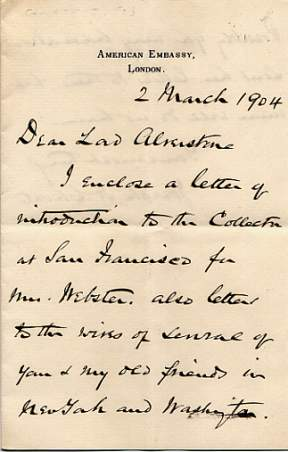 The image shows the first page of one letter.