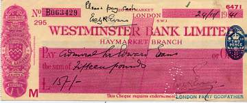 The image shows a similar cheque.
